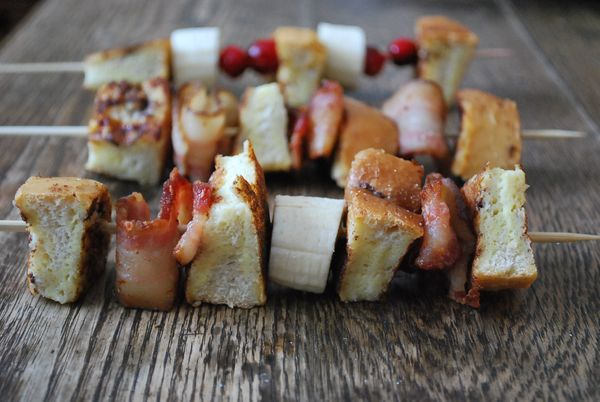 French Toast Kebabs (Family Bites)