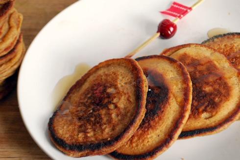 Gingerbread Pancakes 2