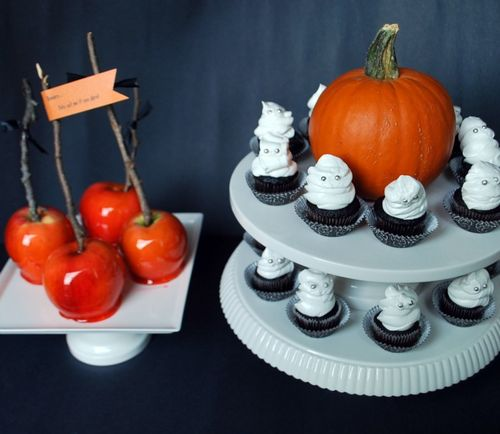 Halloween - Cupcakes and Apples