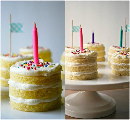 Mini Birthday Cakes Family Bites