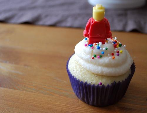 Lego Man Cupcake