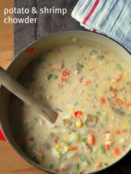 Potato and Shrimp Chowder