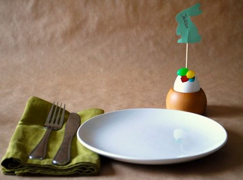 Easter Place Setting 1