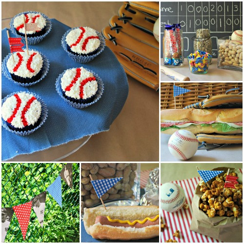 Baseball Party - Collage 1