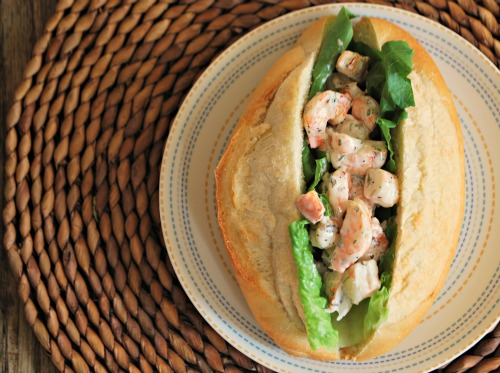 Grilled Shrimp Roll