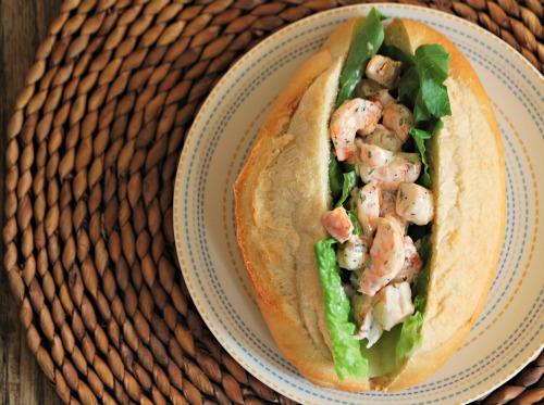 Grilled Shrimp Roll