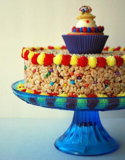Crispy Carnival Cake 1