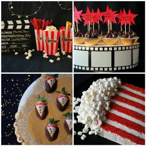 Movie Party Collage