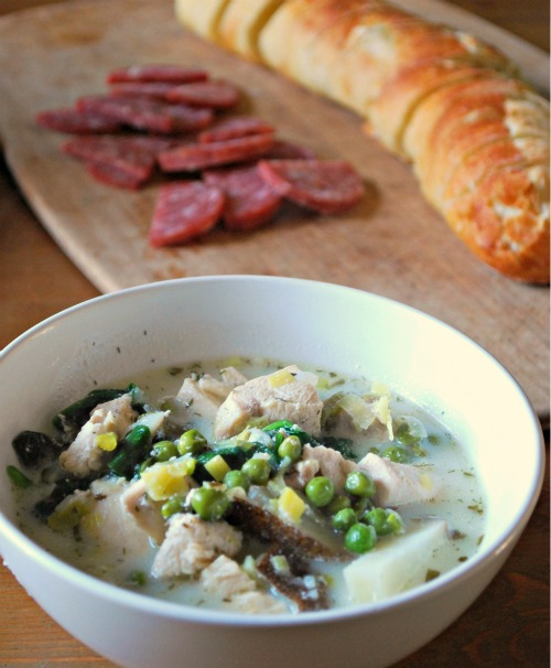 French Country Spring Soup