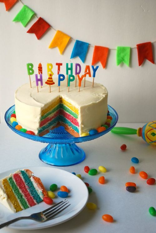 Fiesta Party - Rainbow Cake 2