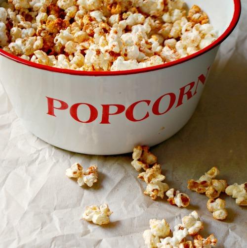 Chili-Spiced Popcorn