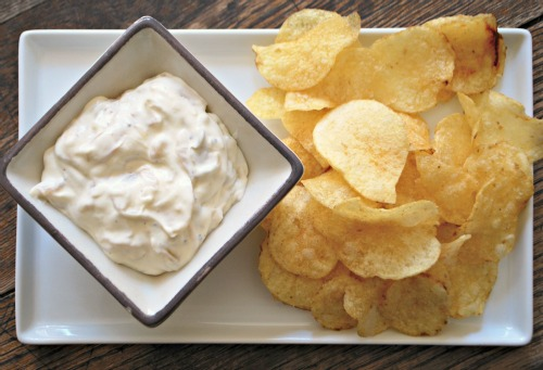 Fried Onion Dip 3