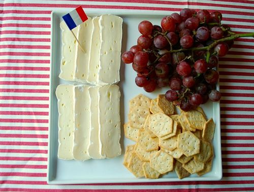 Olympics Party - French Cheese Platter
