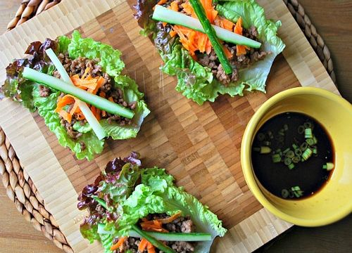 Lettuce Hand Rolls
