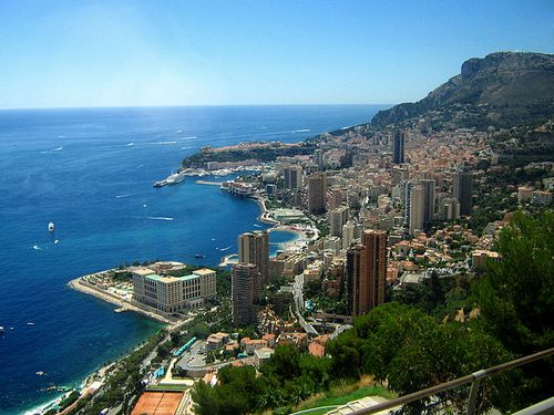 Monaco - Aerial View