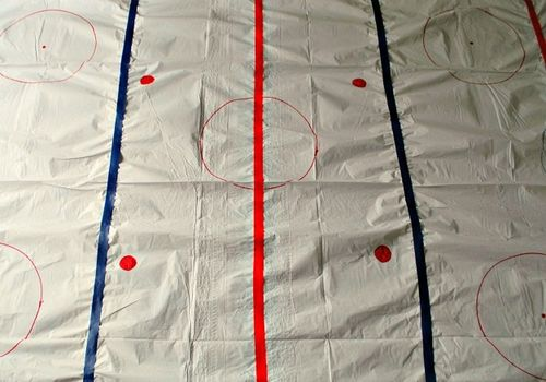 Ice Rink Tablecloth