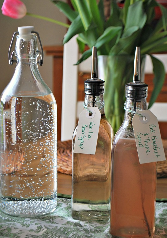 Making Homemade Sparkling Water