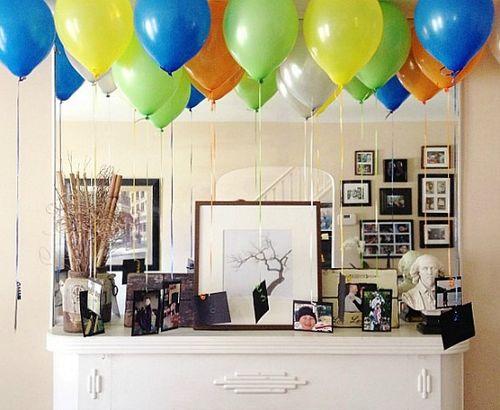 Ben's Birthday - Balloons