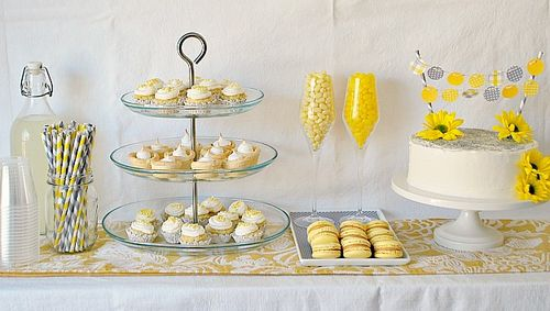 Baby Shower - Sweets Table