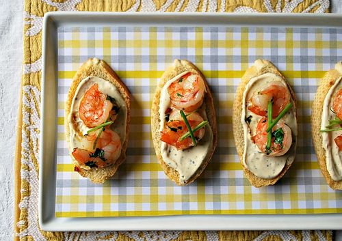 Baby Shower - Shrimp Crostini