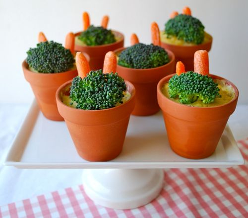 Tea Party - Veggie Pots
