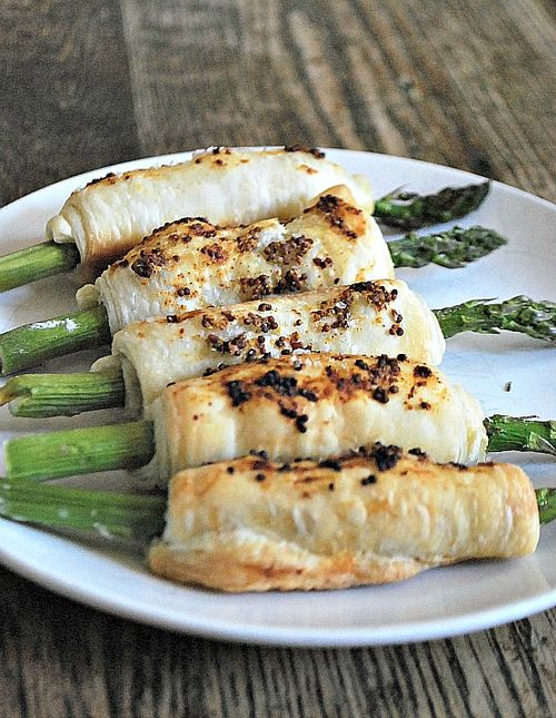 Mustard and Asparagus Batons 2
