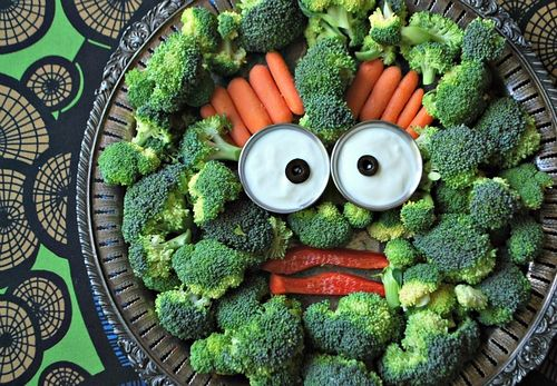 Monster Veggie Platter