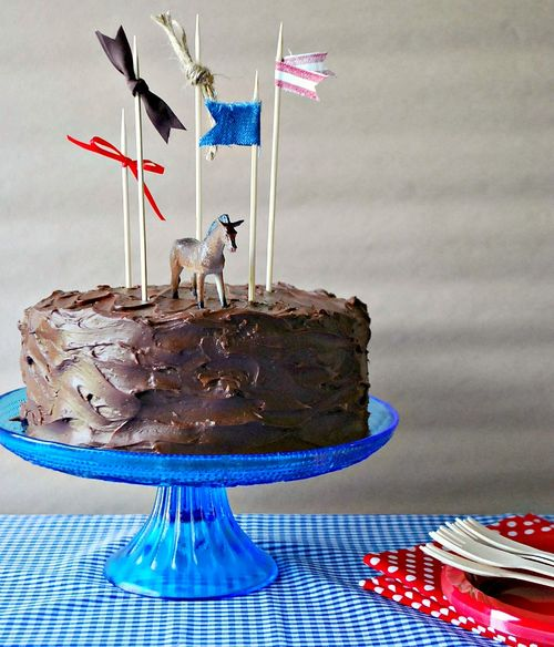 Cowboy Party - Birthday Cake