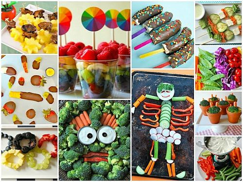 Fruits and Veggies Kid's Party