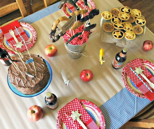 Cowboy Party - Table Decor 2