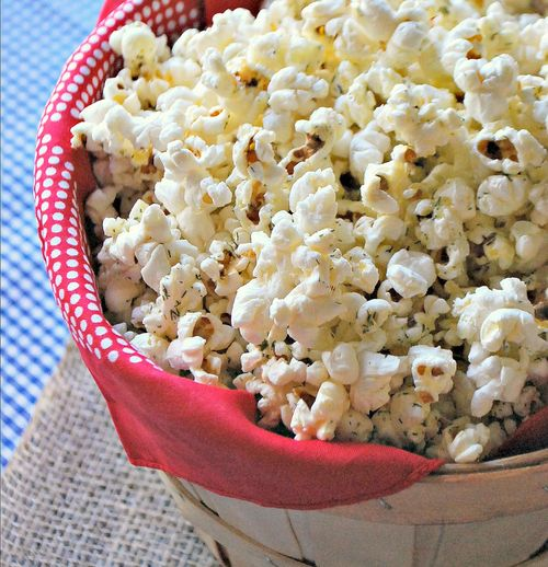 Cowboy Party - Parmesan Popcorn