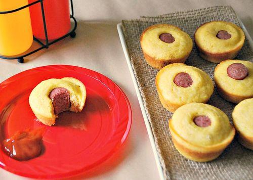 Cowboy Party - Corndog Muffins