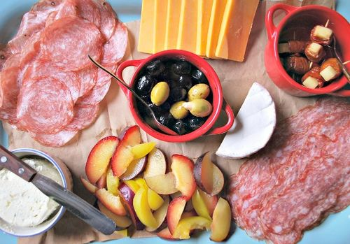 Gatherings - Meat and Cheese Platter