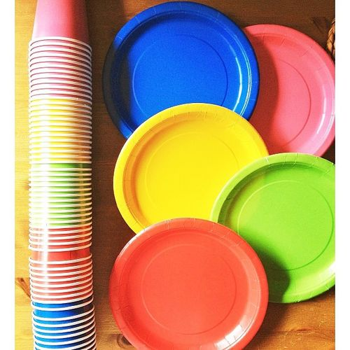 Cousin's Camp - Plates and Cups