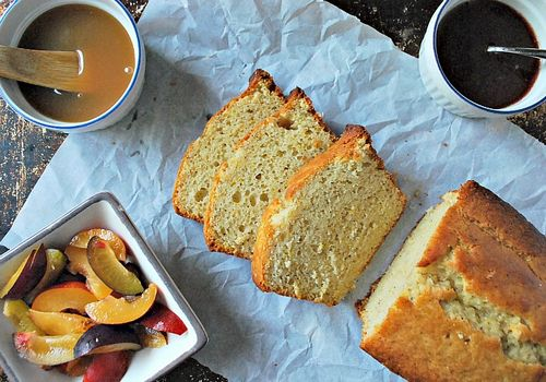 Orange Vanilla Bean Loaf Cake
