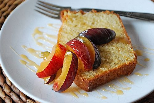 Orange Vanilla-Bean Loaf Cake 2