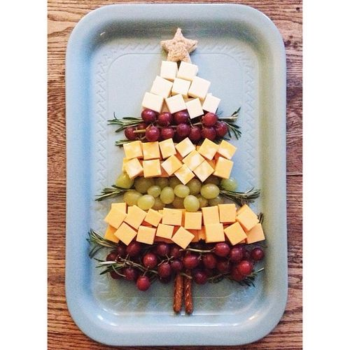 Cheesy Christmas Tree