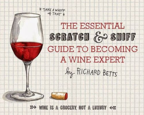 Scratch-sniff-wine-book