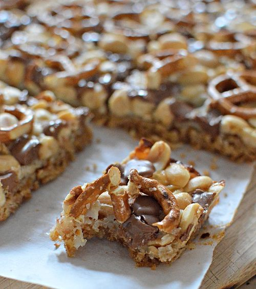 Pretzel Magic Bars 4