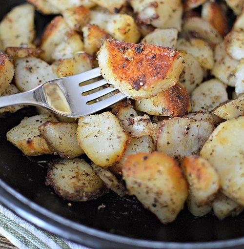 Simple Roast Potatoes 3