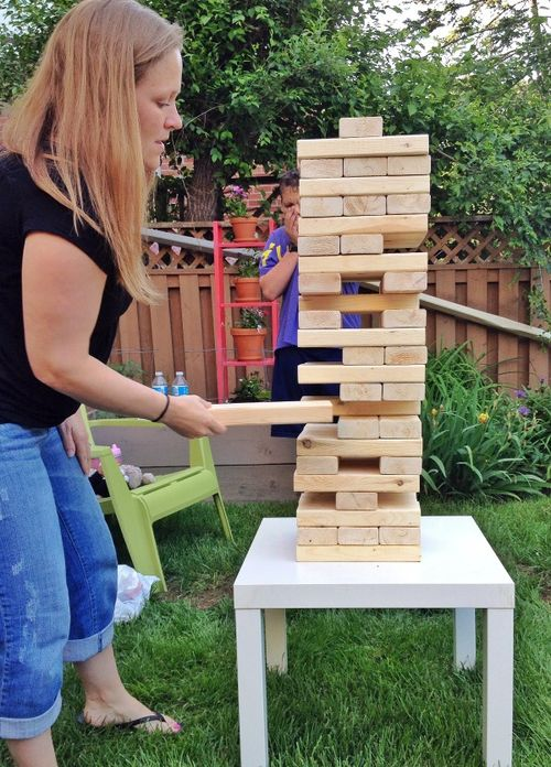 Backyard Jenga 2