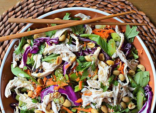 SM - Family Meal - Asian Chicken and Cabbage Salad
