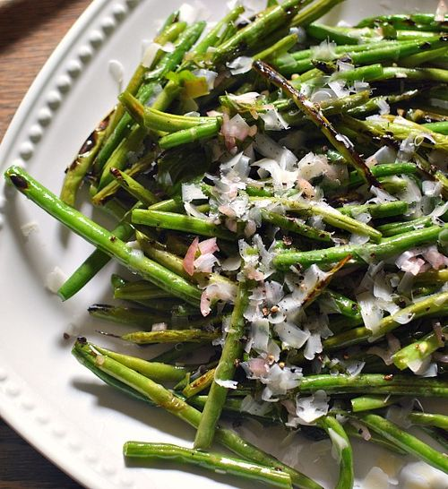 Grilled Green Bean Salad 2