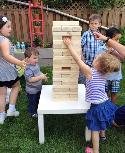 Backyard Jenga 1