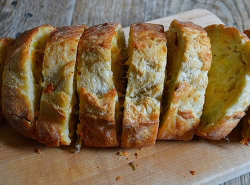 Cheesy Onion Bread 2