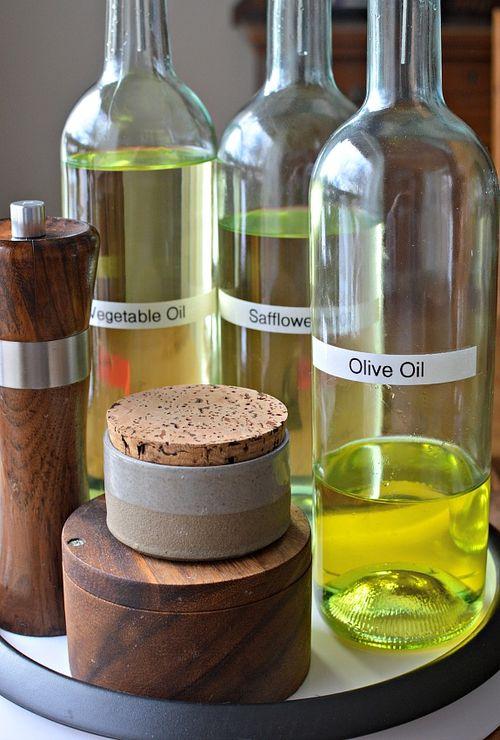 Wine Bottle Oil Dispenser