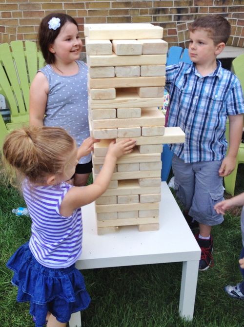 Backyard Jenga 3