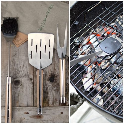 Bbq tools collage