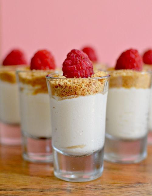 Cheesecake Mousse Shots 3