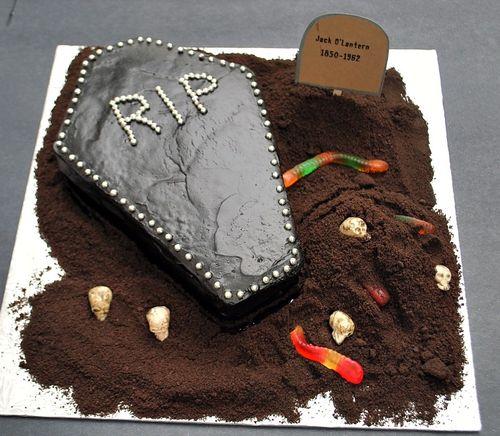 Halloween - Coffin Cake